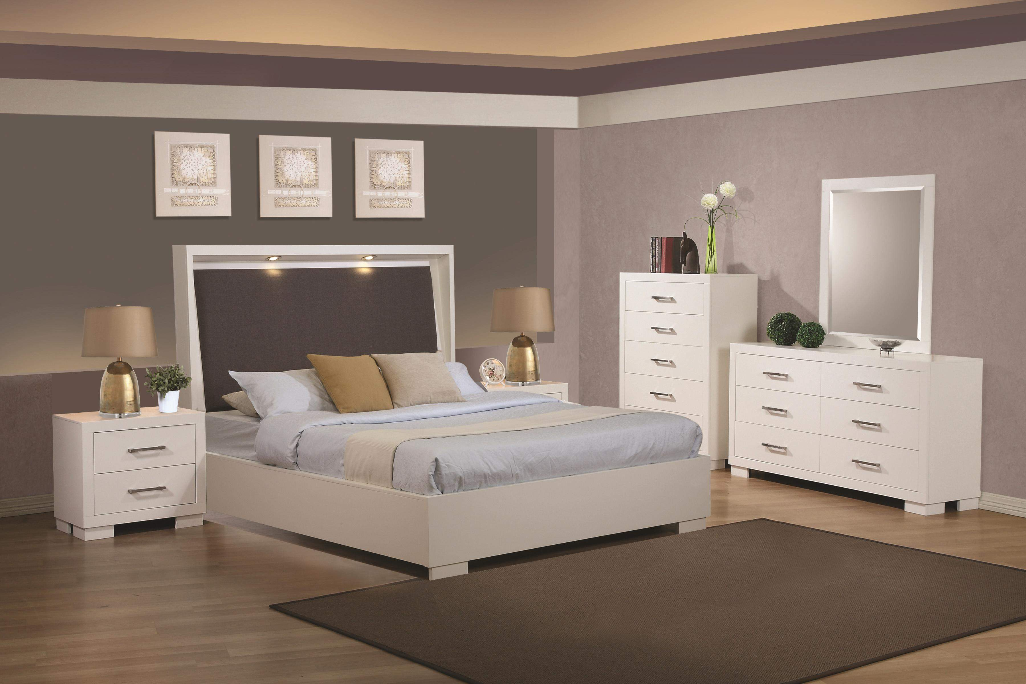 Jessica by coaster 4 piece bed set quality furniture at affordable prices in philadelphia main - Jessica bedroom set ...