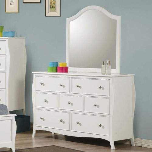Dominique Drawer Dresser With Mirror Quality Furniture