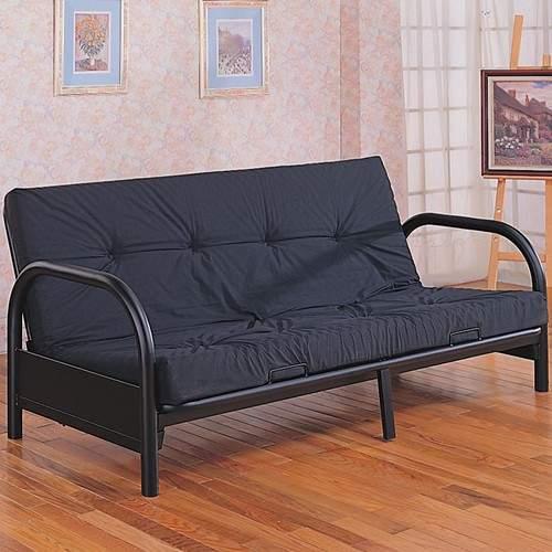 Futons Contemporary Metal Futon Frame Quality Furniture