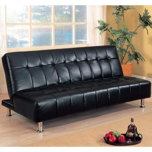 Sofa beds faux leather armless convertible sofa bed for Sofa bed philadelphia