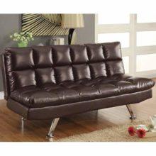 Sofa Beds Contemporary Styled Futon Sleeper Sofa With