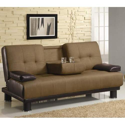 Sofa beds two tone convertible sofa bed with drop down for Sofa bed philadelphia