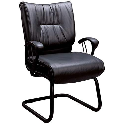 office chairs casual contemporary faux leather office side