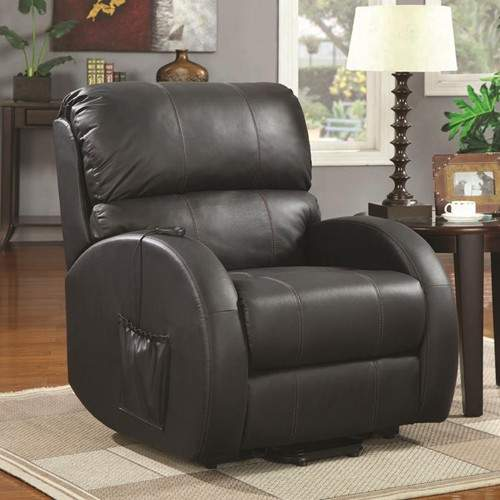 Recliners Top Grain Leather Power Lift Recliner Quality