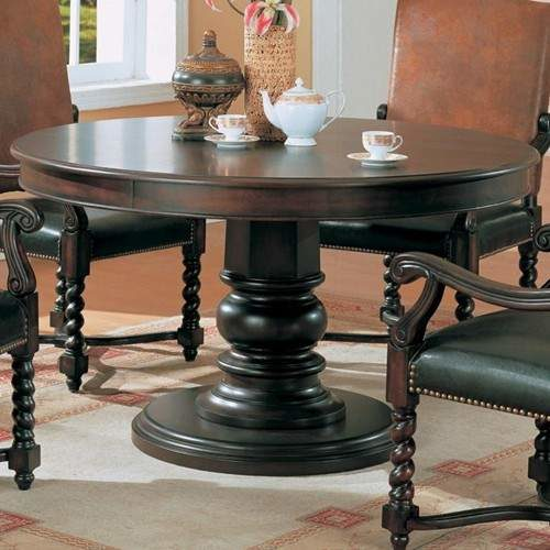 Riverside Round Pedestal Semi Formal, What Is A Semi Formal Dining Room
