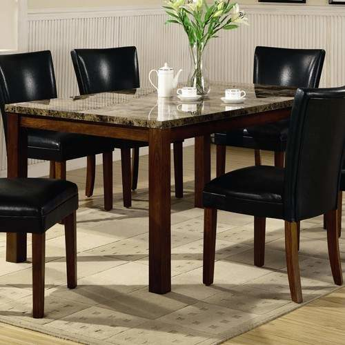 Telegraph Contemporary Marble Look Top Dining Table Quality Furniture At Affordable Prices In Philadelphia Main Line Pa