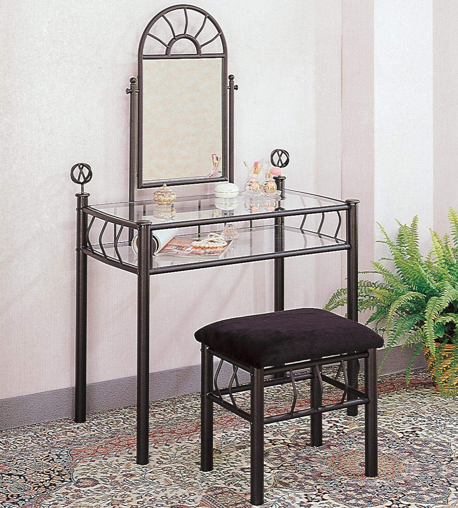 for table georgia chair vanity vanities safavieh stool pin