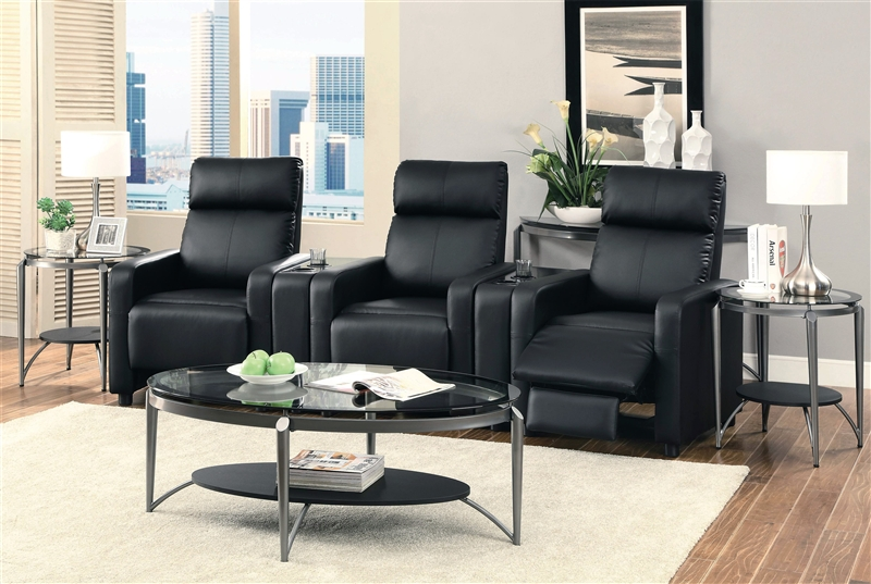 home theater couch living room furniture toohey contemporary 5 reclining home theater seating 24477