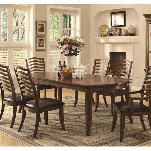 Avery Casual 7 Piece Dining Set With Extendable Table