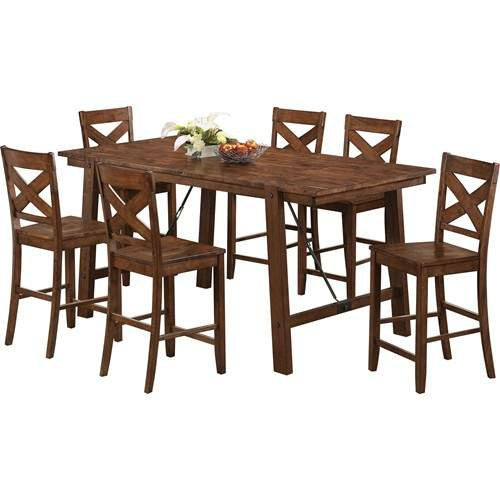 Lawson 7 Piece Pub Table Set Quality Furniture At