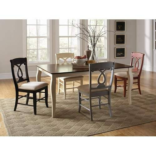 Holland 5 Piece Mix And Match Country Style Dining Set