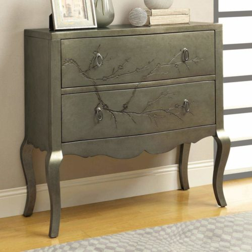 Cheap Good Quality Furniture: Accent Cabinets 2 Drawer Cherry Blossom Tree Cabinet With