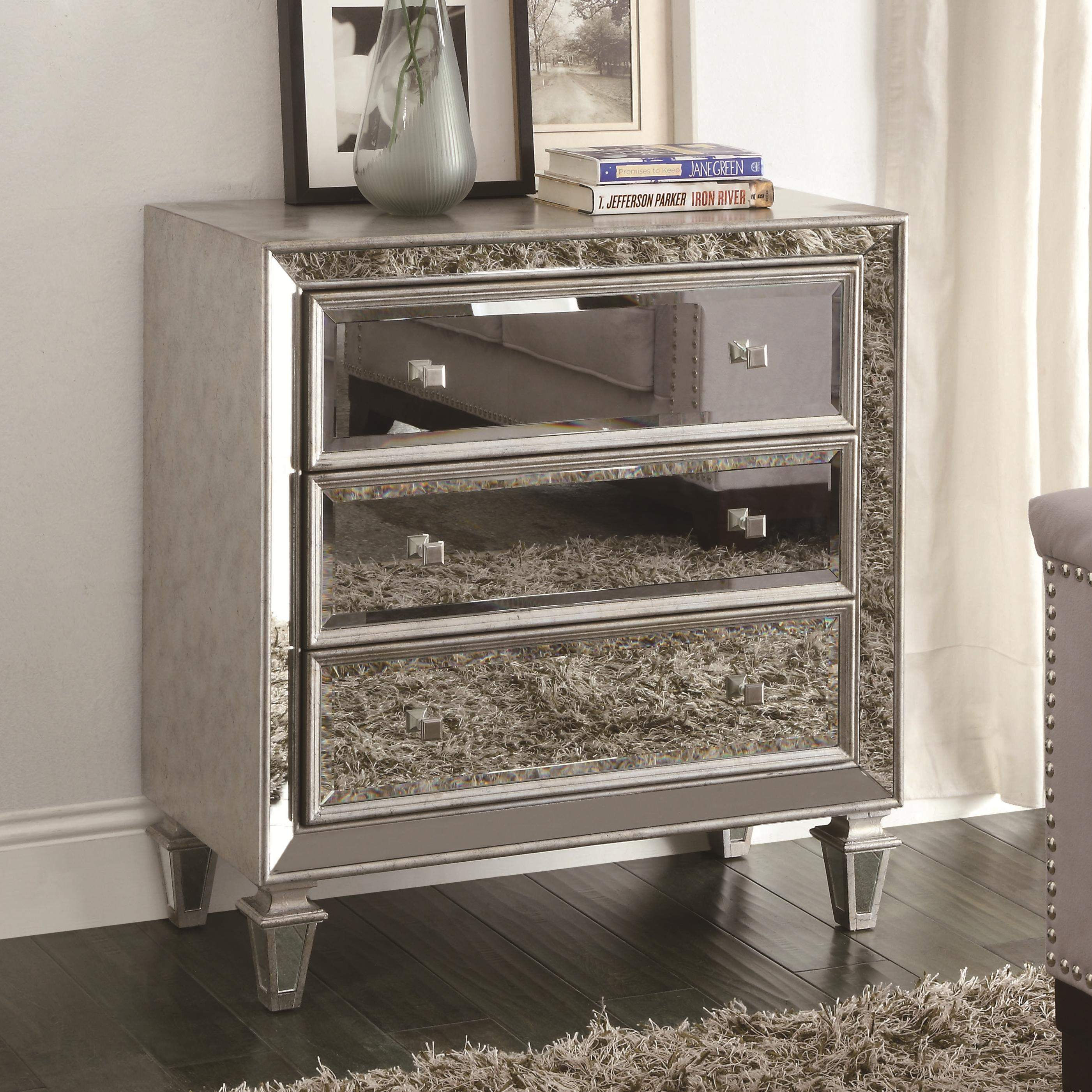 Accent Cabinets Mirrored Accent Cabinet Quality