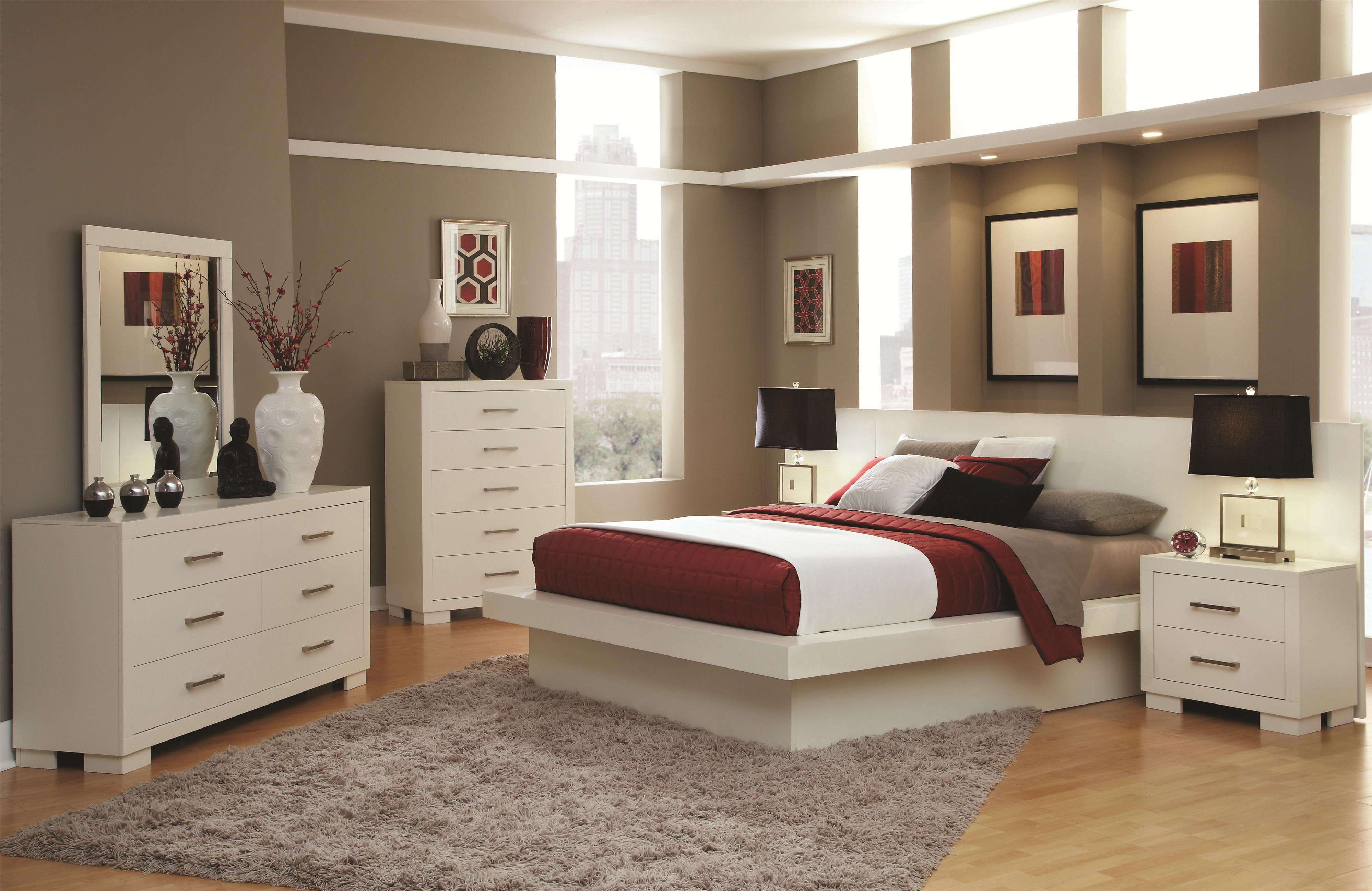Jessica Platform Bed By Coaster 4 Piece Bed Set Quality