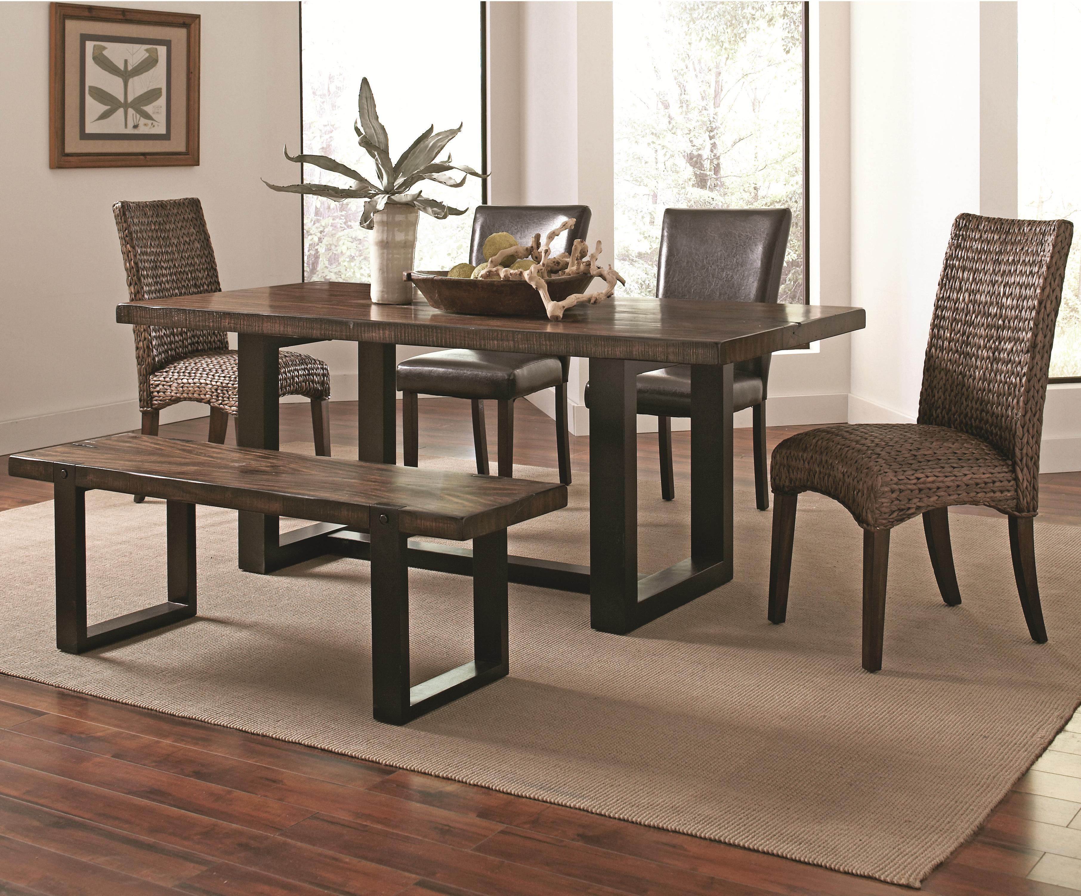 Westbrook Dining Casual Rustic 6 Piece Mix And Match