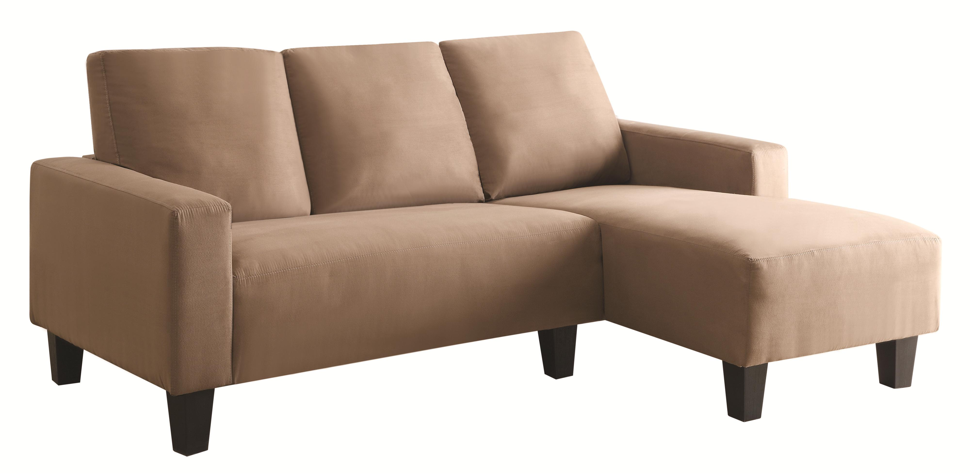 Sothell contemporary sectional sofa with chaise quality for Chaise contemporary