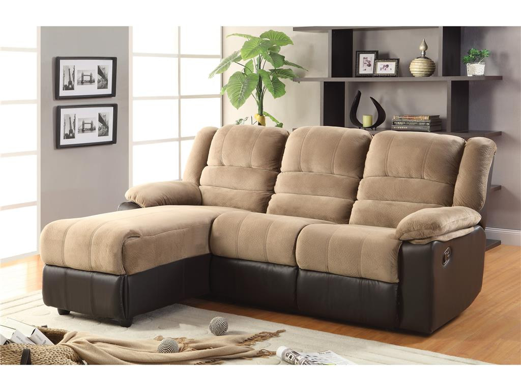 Sectional sofa with chaise lounge and recliner sectional for Chaise and recliner