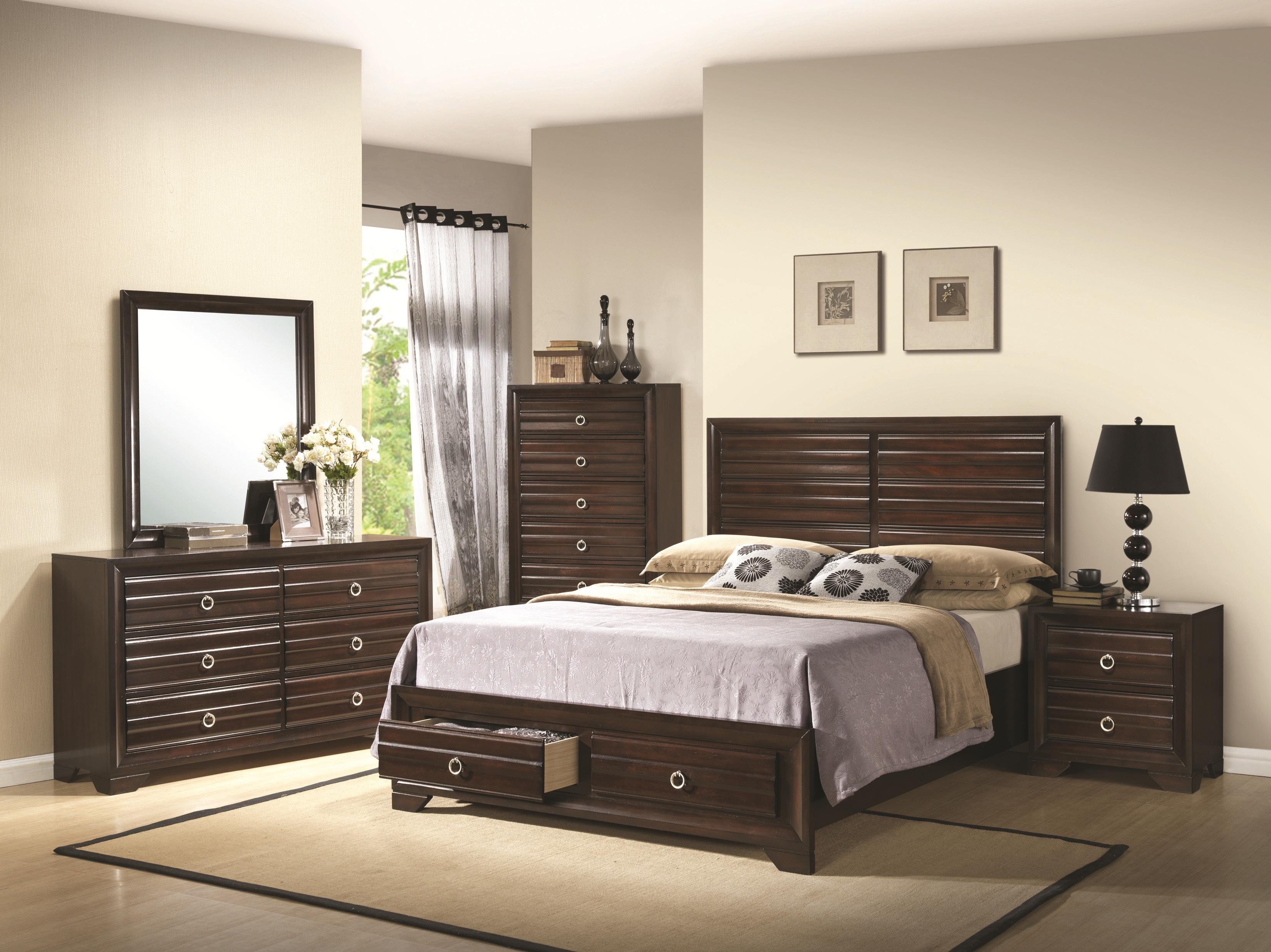 bryce  piece bed set quality furniture  affordable