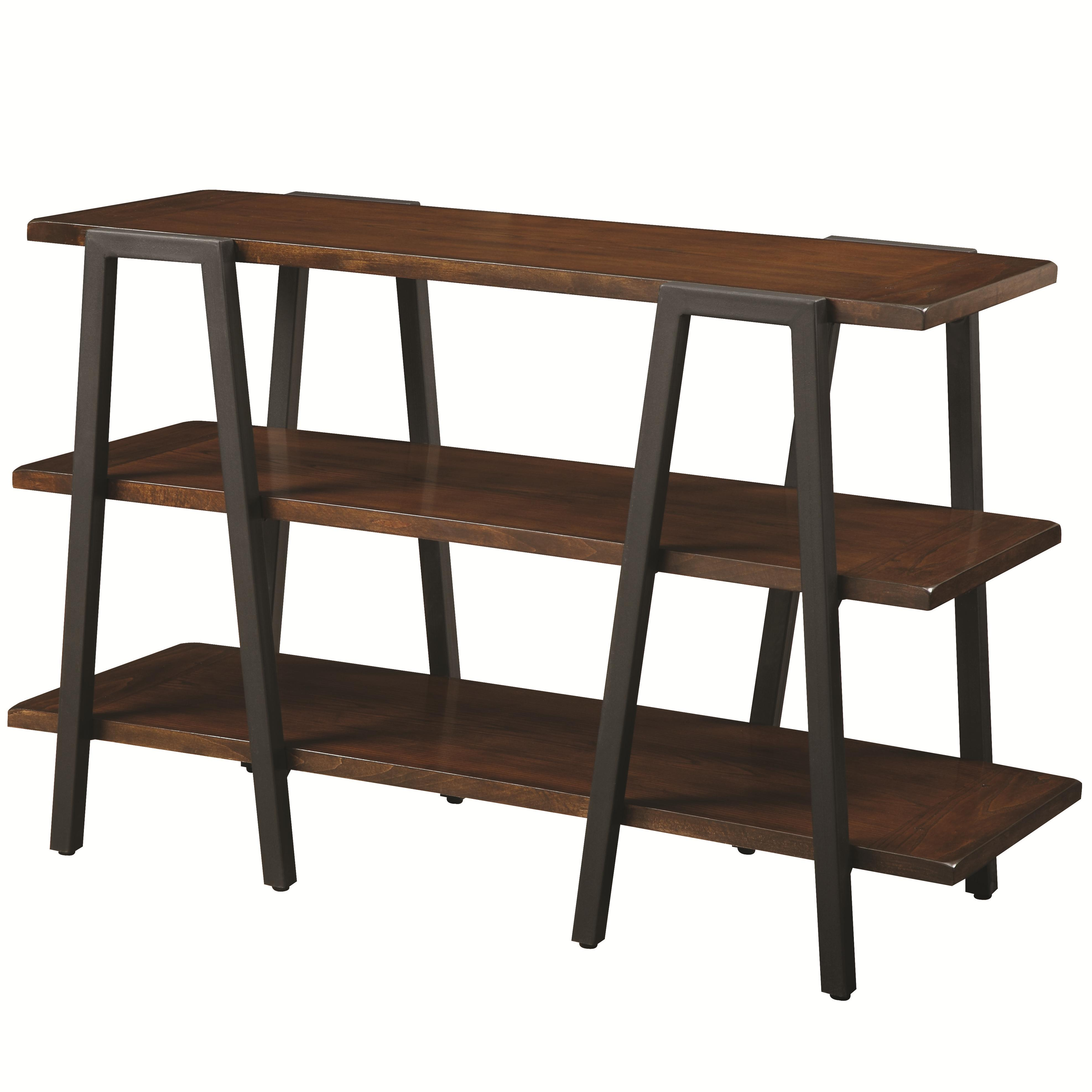 70328 Sofa Table With 2 Shelves Quality Furniture At