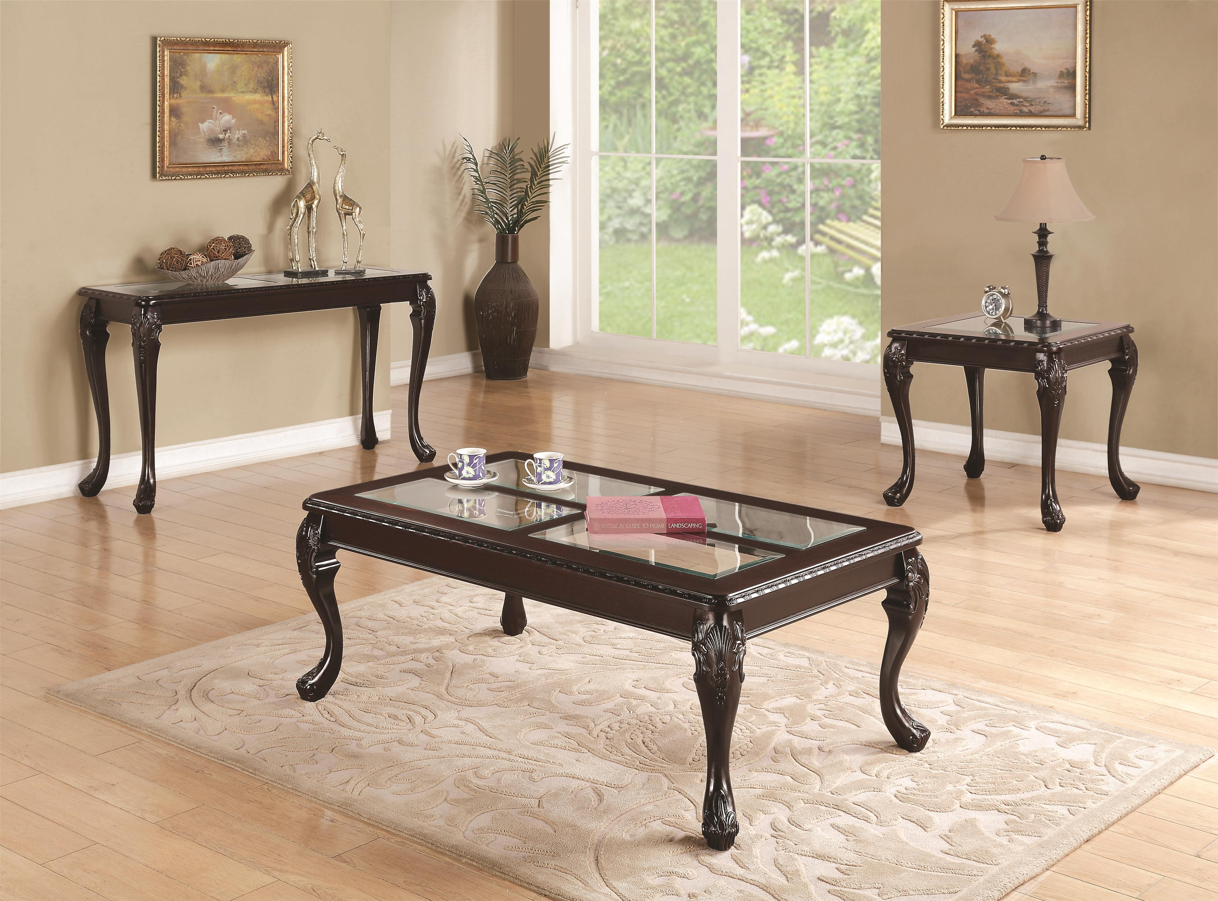 70339 Sofa Table With Cabriole Legs Quality Furniture At