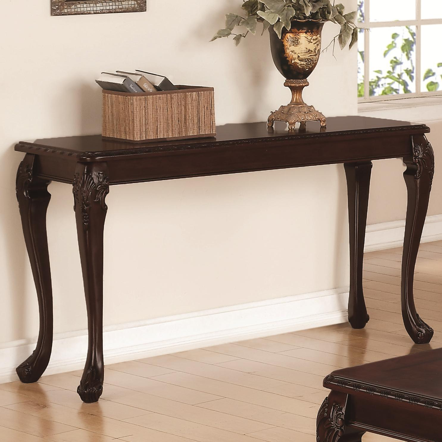 Occasional Group Traditional Detailed Sofa Table Quality