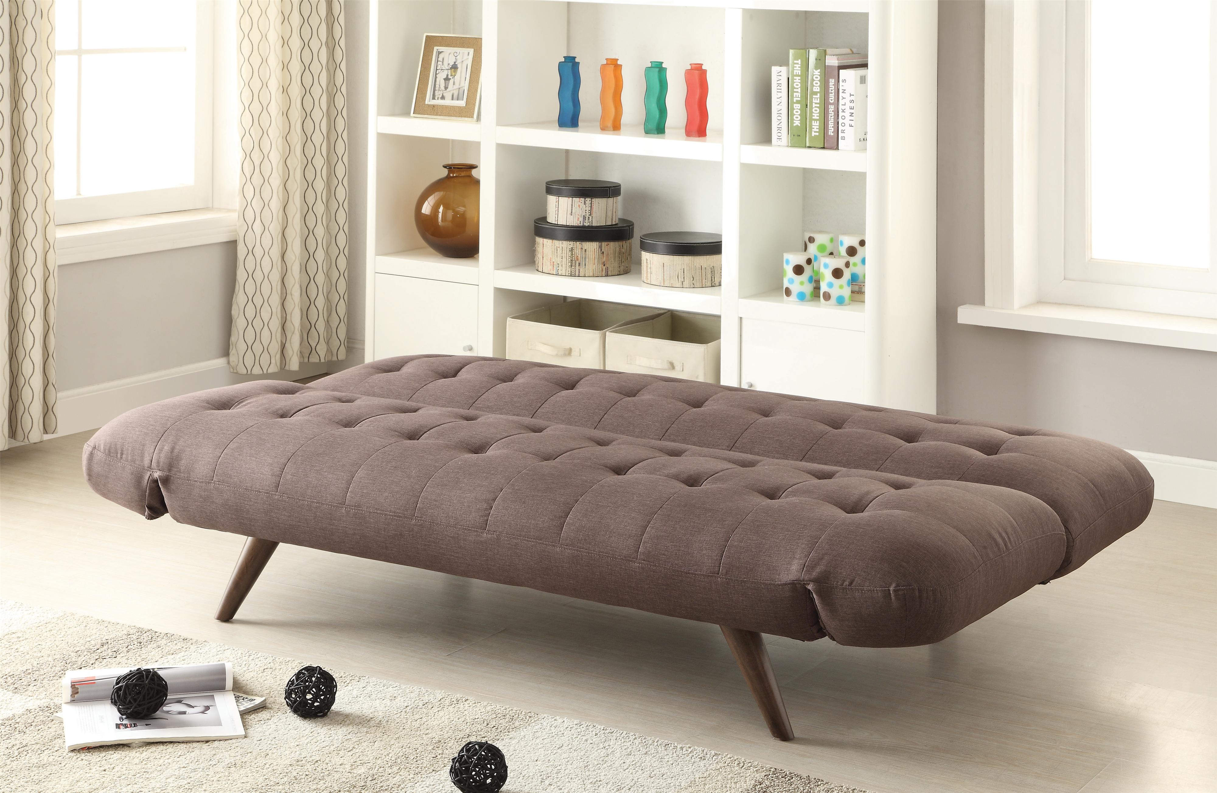 Sofa Beds and Futons Retro Modern Sofa Bed with TuftingCone