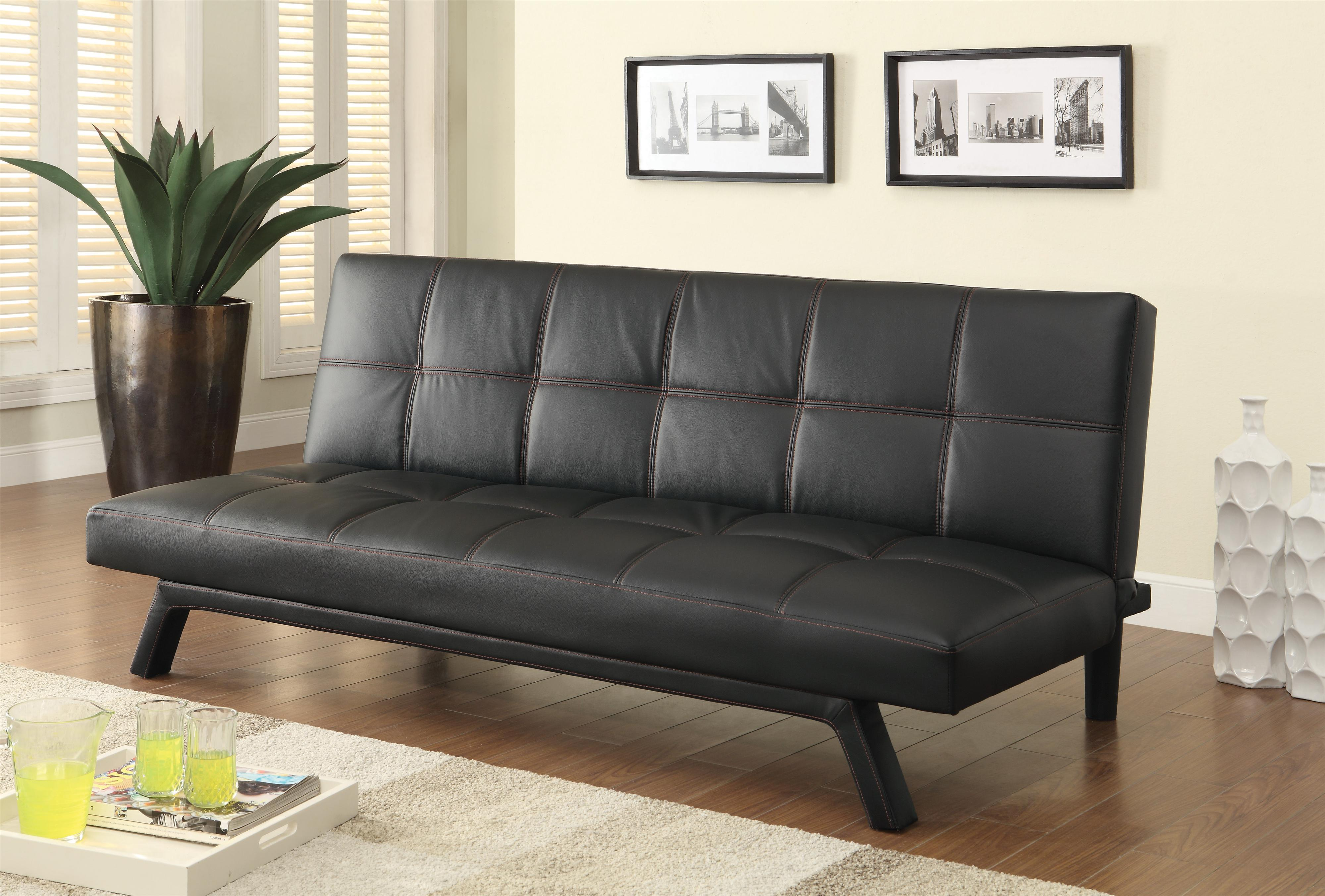Sofa beds and futons contemporary sofa bed in black for Sofa bed reviews 2014