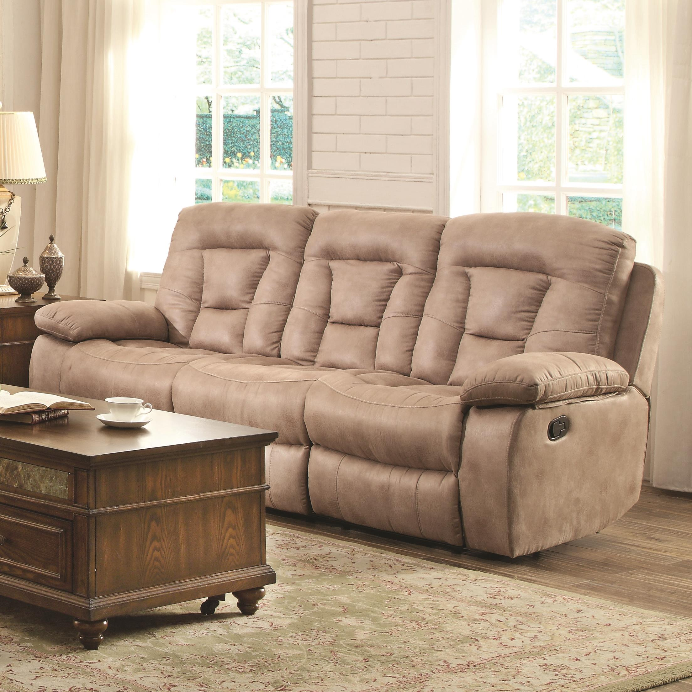 Cheap Good Quality Furniture: Evensky Motion Sofa In Performance Fabric