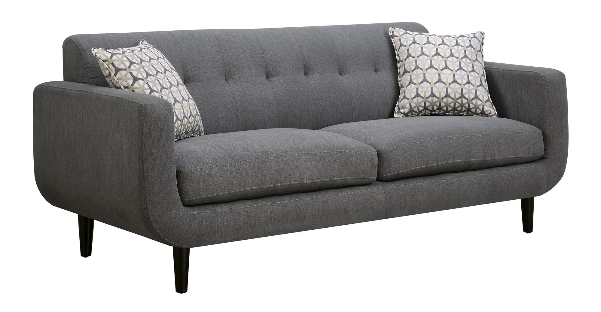 Stansall mid century modern sofa quality furniture at for Affordable modern sofa