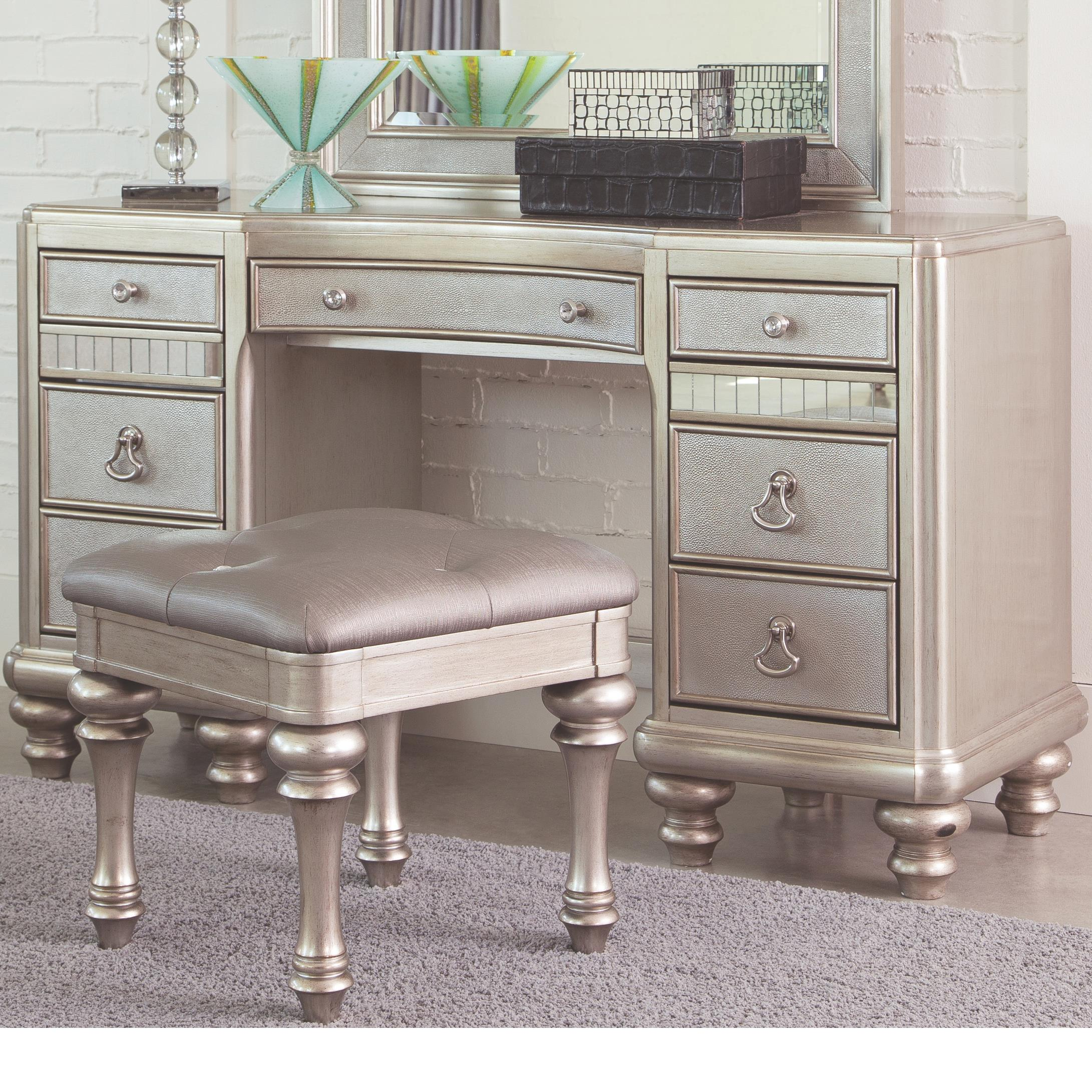 Keep everything from Towels to Hair Dryers in with one of our Bathroom Vanities. Ashley Furniture HomeStore has Free Shipping on many items!