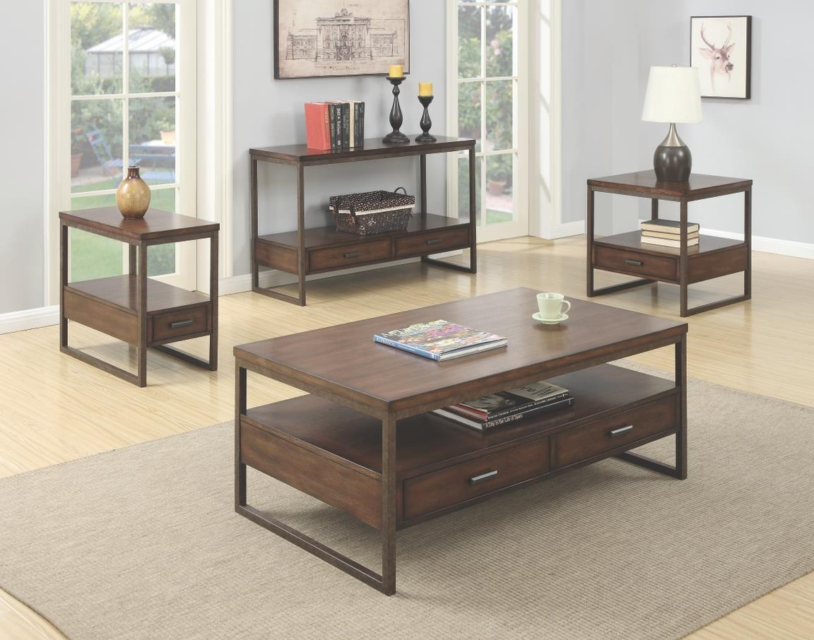 70430 Industrial Two Drawer Coffee Table