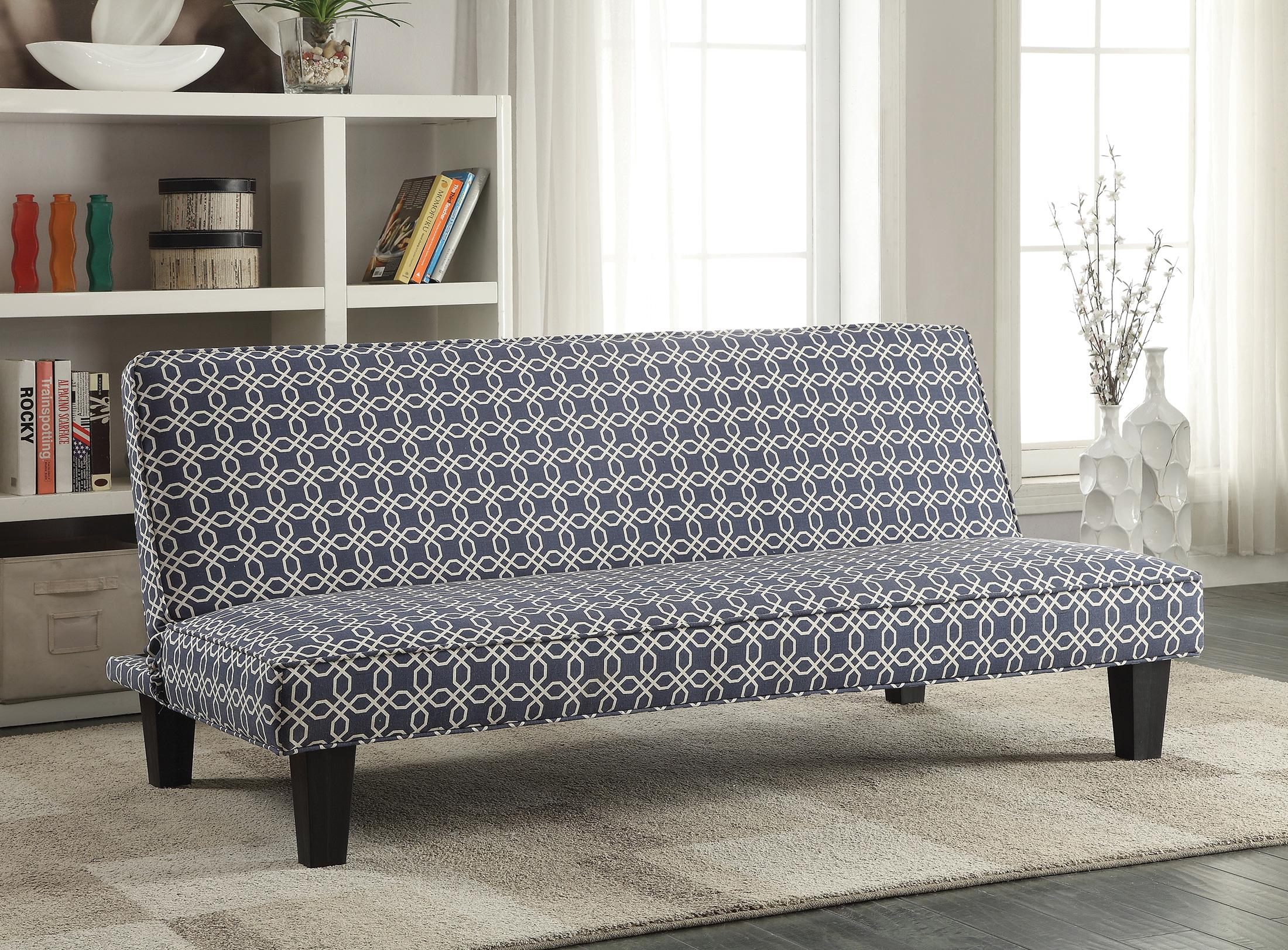Futons Sofa Bed With Trellis Pattern Fabric Quality