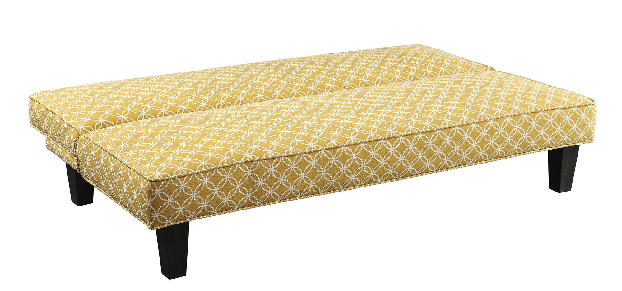 Futons Sofa Bed with Trellis Pattern Fabric Quality  : products coaster color futons coaster500166 b1 from furniturewares.com size 2000 x 936 jpeg 222kB