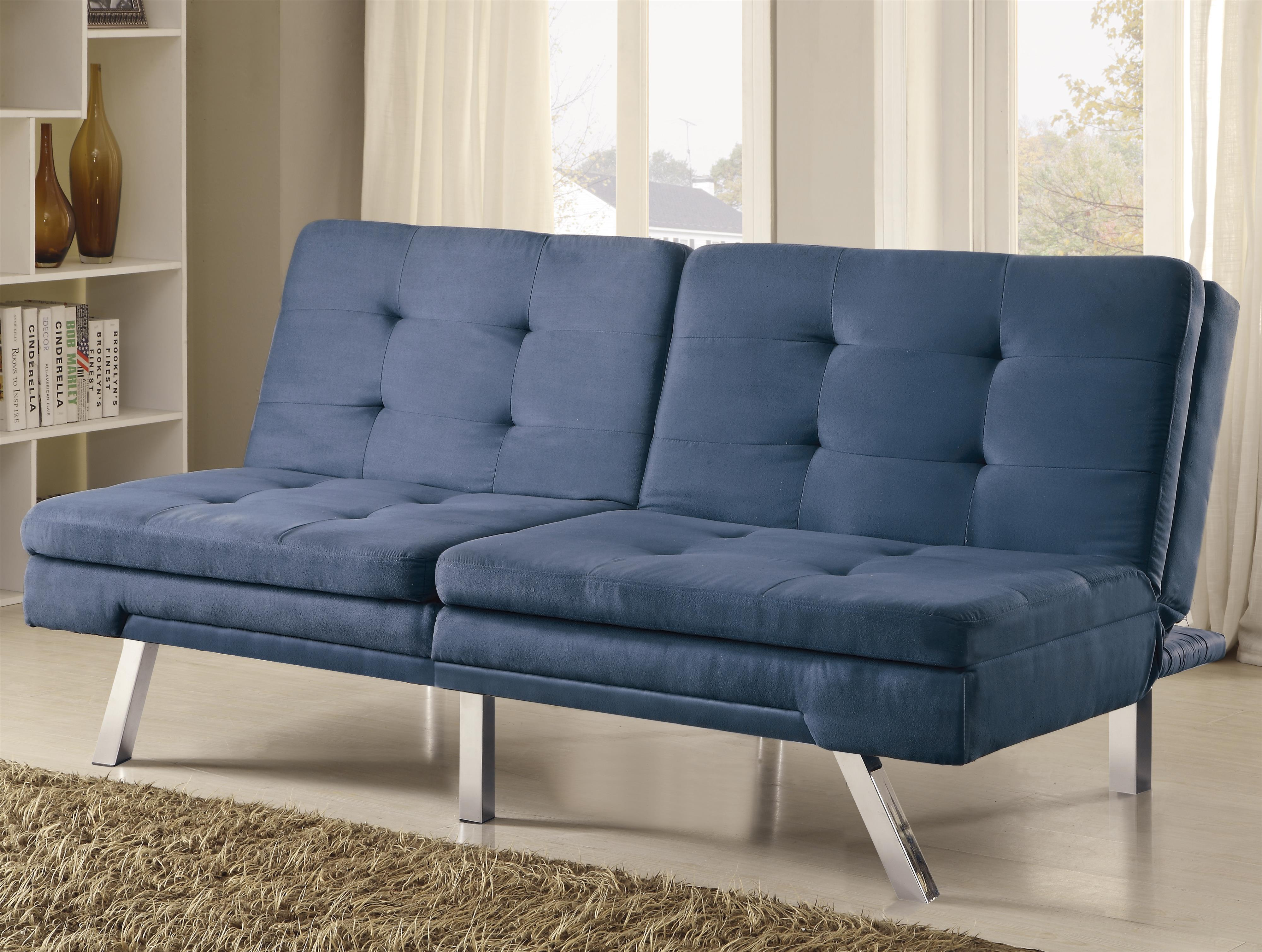 and coaster number futons with products item diamond futon grey sofa beds bed