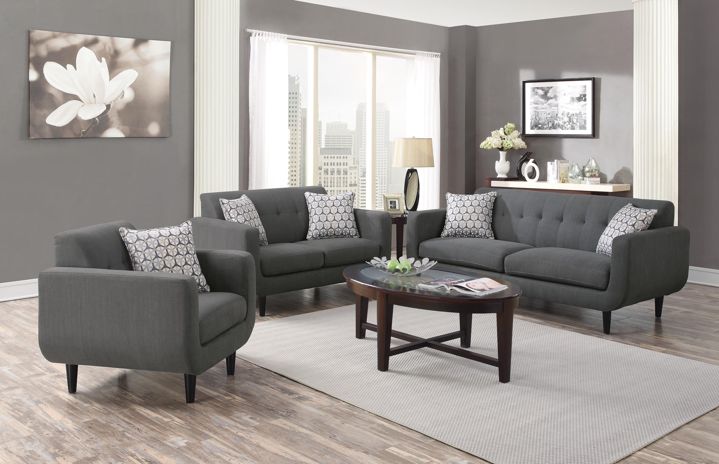 Stansall Mid Century Modern Loveseat Quality Furniture At Affordable Prices In Philadelphia Main Line Pa
