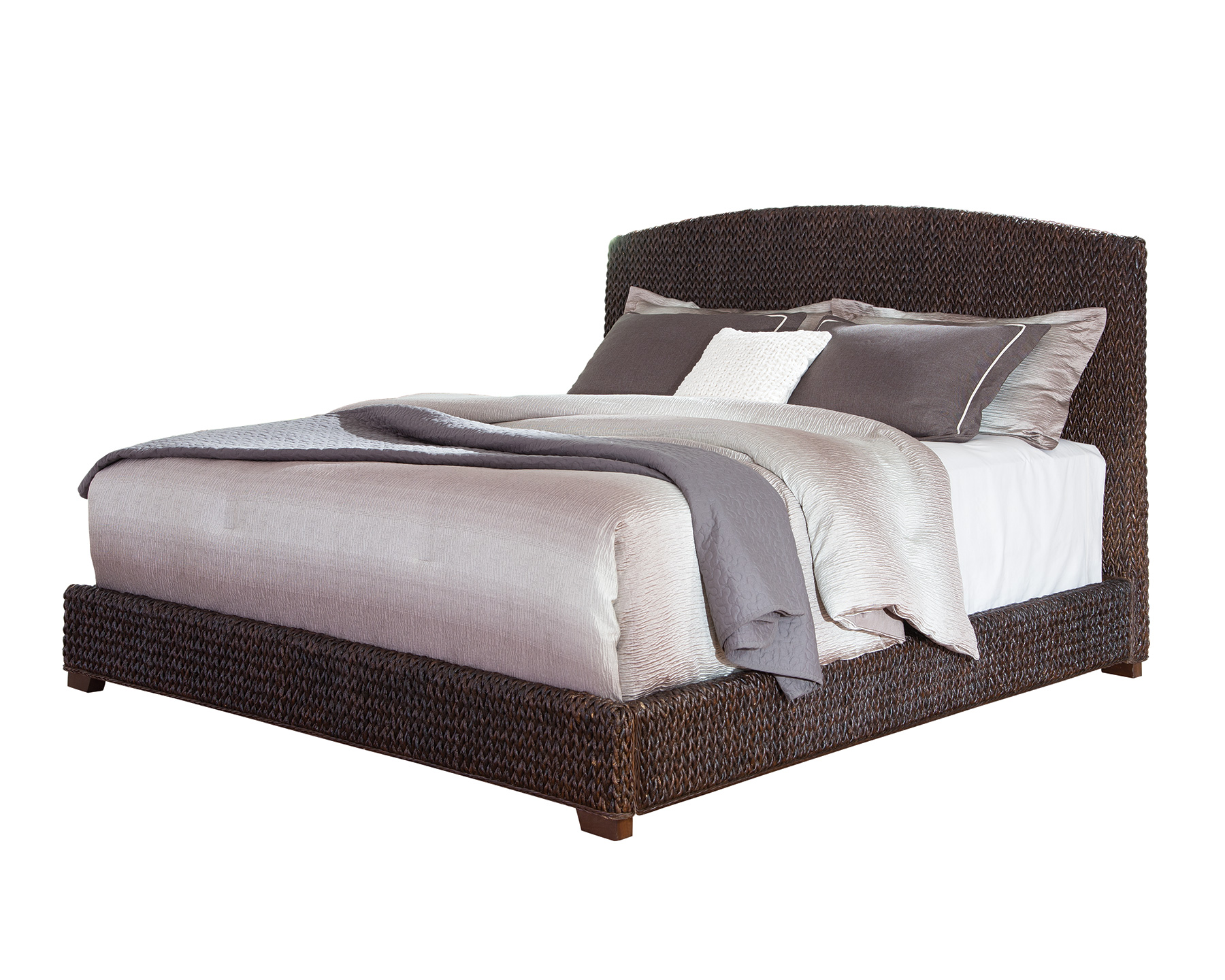 Laughton Woven Banana Leaf California King Bed Quality Furniture At Affordable Prices In