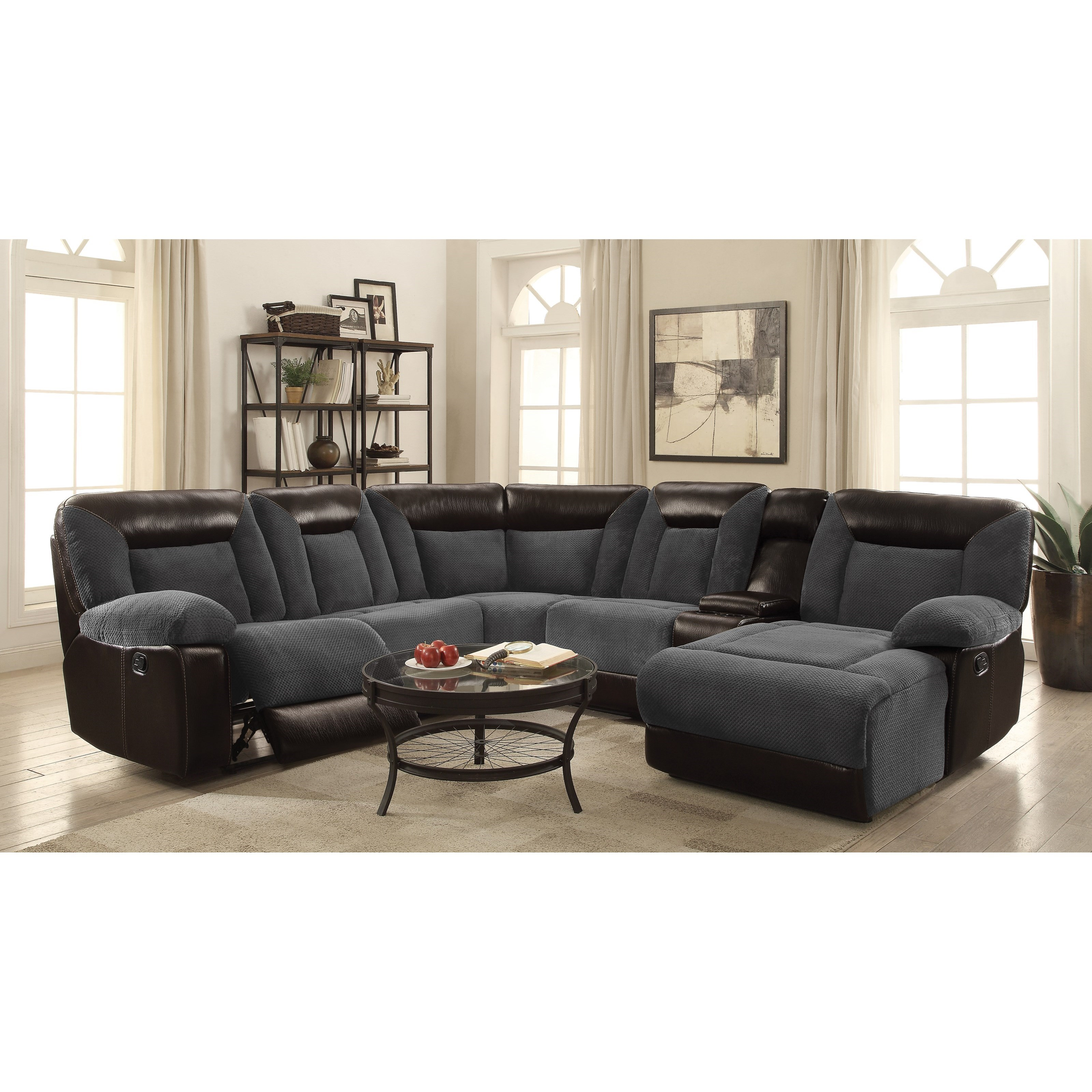 Pleasing Cybele Modular Motion Sectional Sofa By Coaster Machost Co Dining Chair Design Ideas Machostcouk