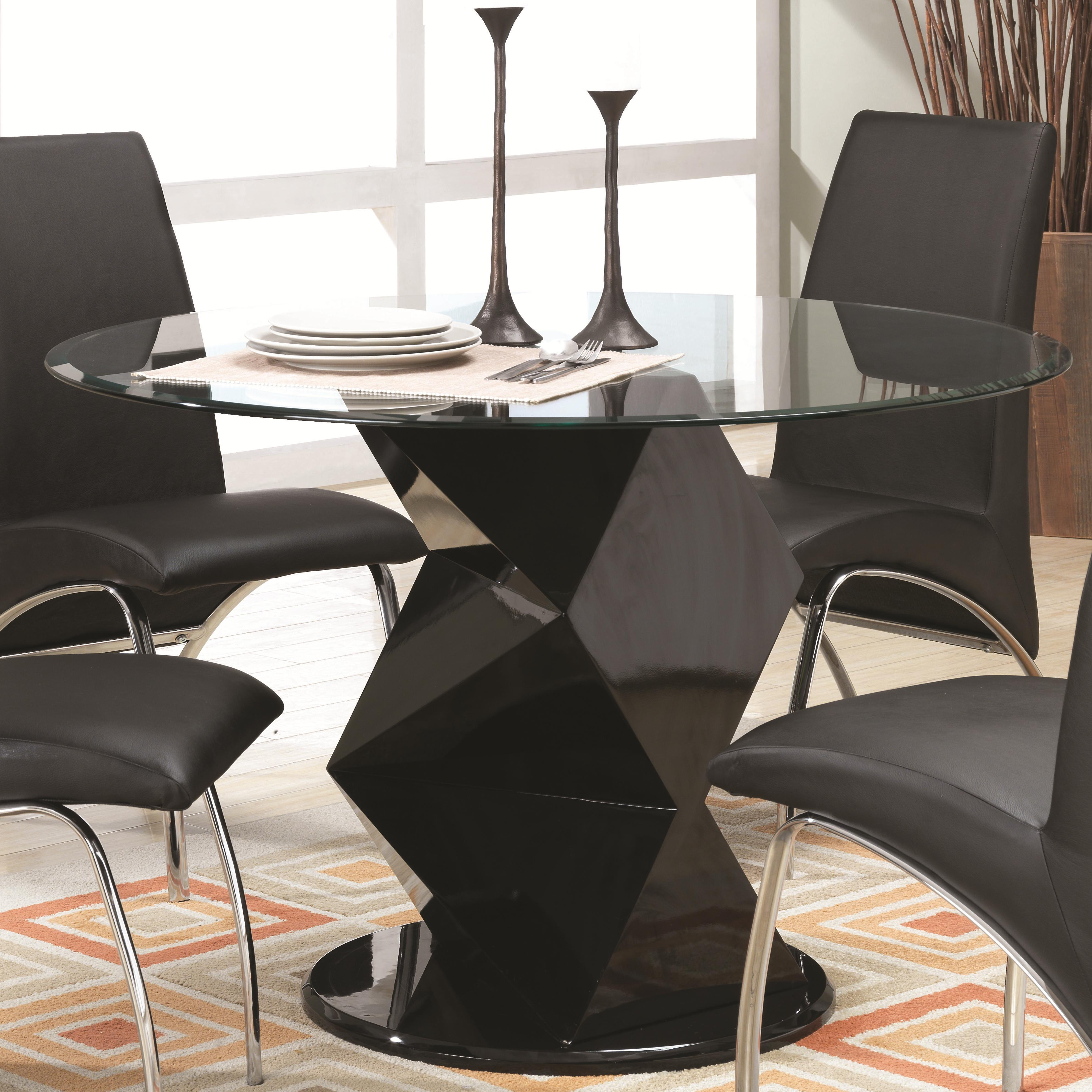 Ophelia Contemporary Gl Top Dining