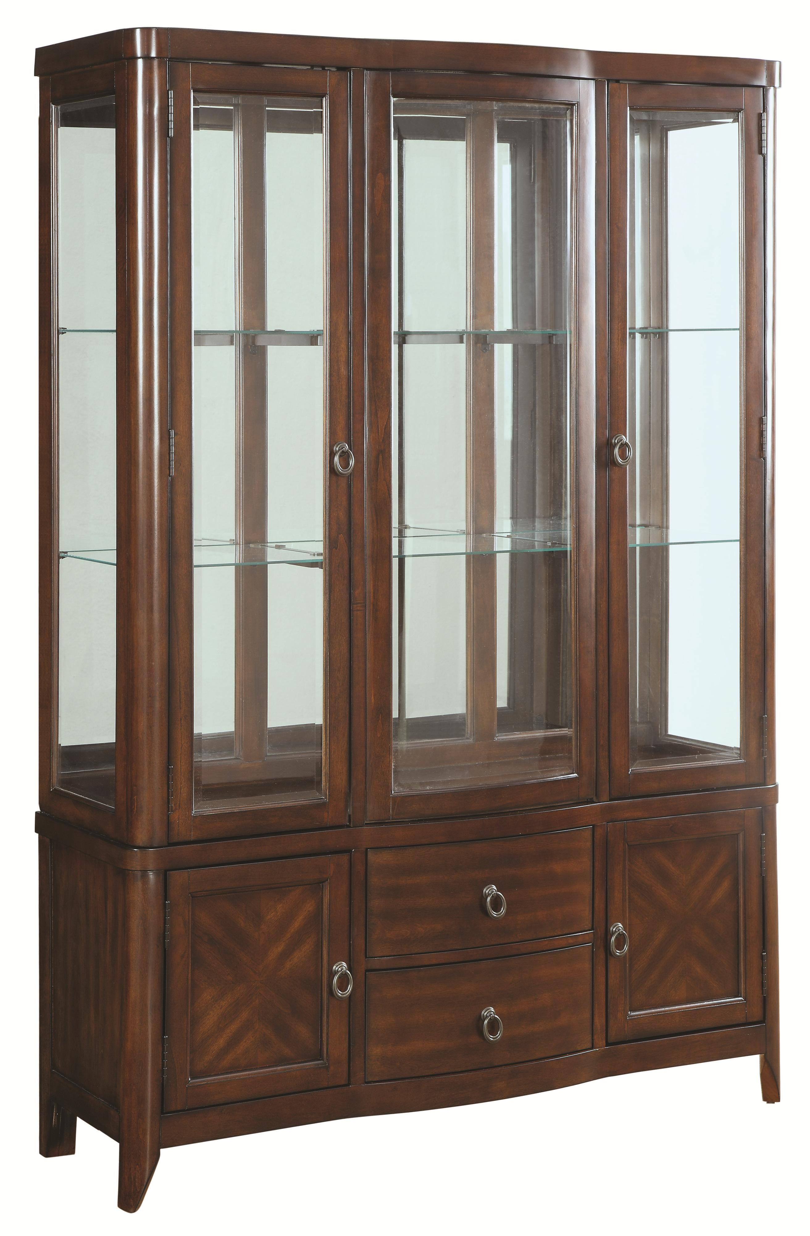 Louanna Transitional Dining Buffet And Hutch