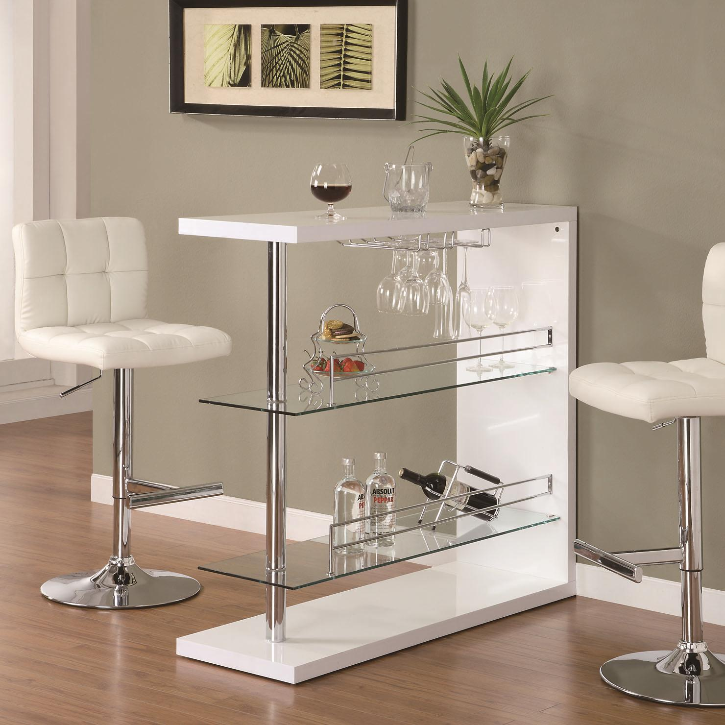 Bar Stand Furniture: Bar Units And Bar Tables Rectangular Bar Unit With 2