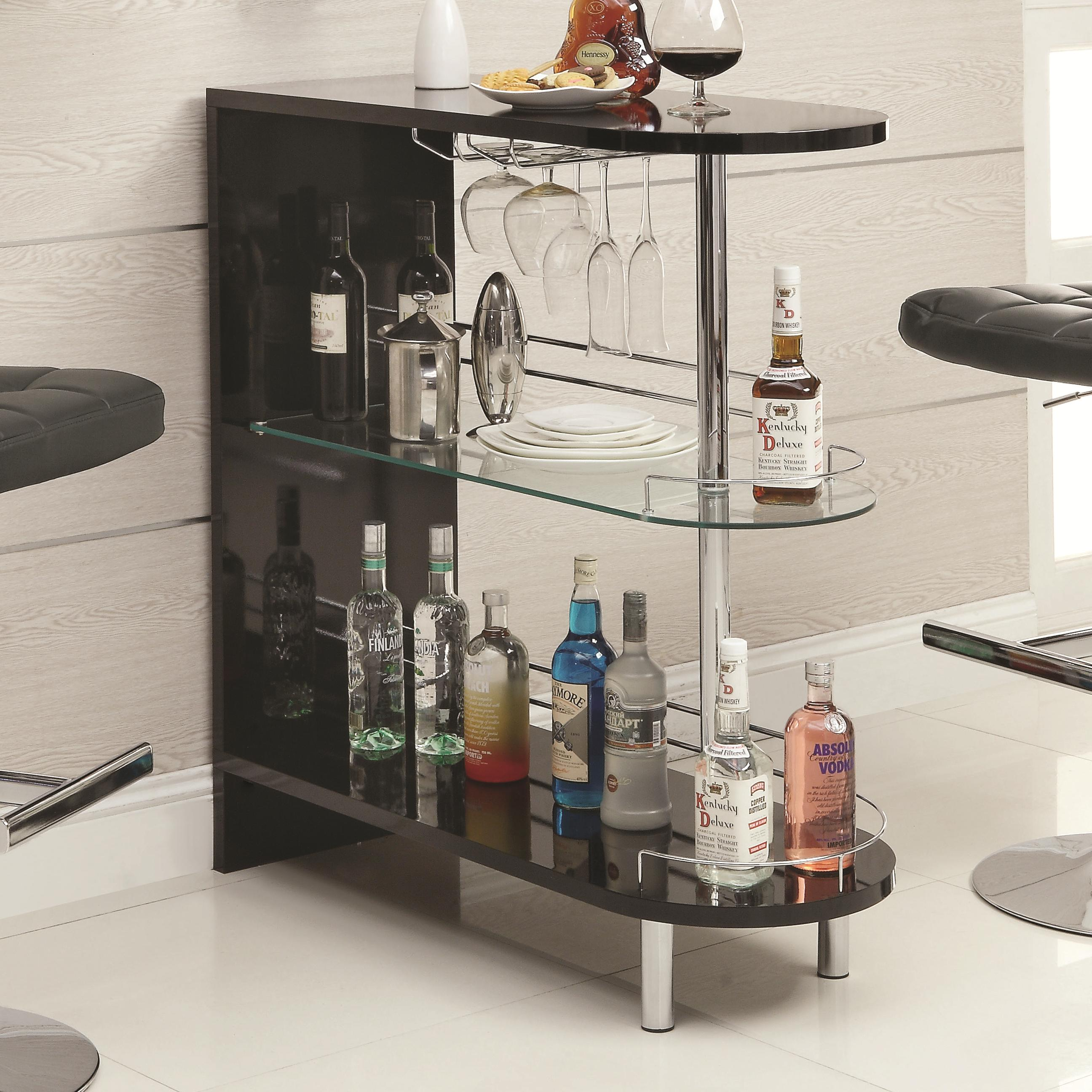 Bar Units and Bar Tables Contemporary Black ... & Bar Units and Bar Tables Contemporary Black Bar Table | Quality ...