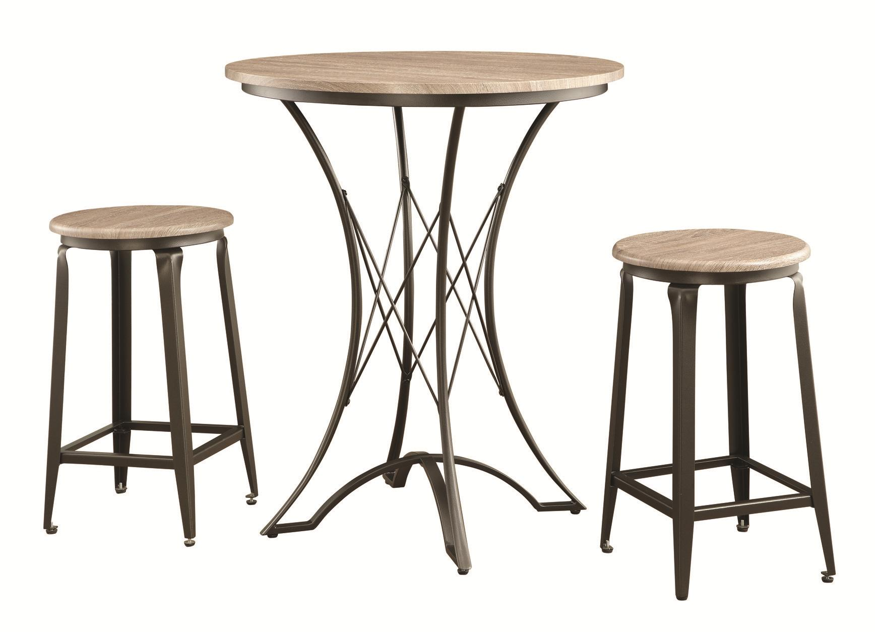 Bar Height Table And Stools Outdoor Dining Room