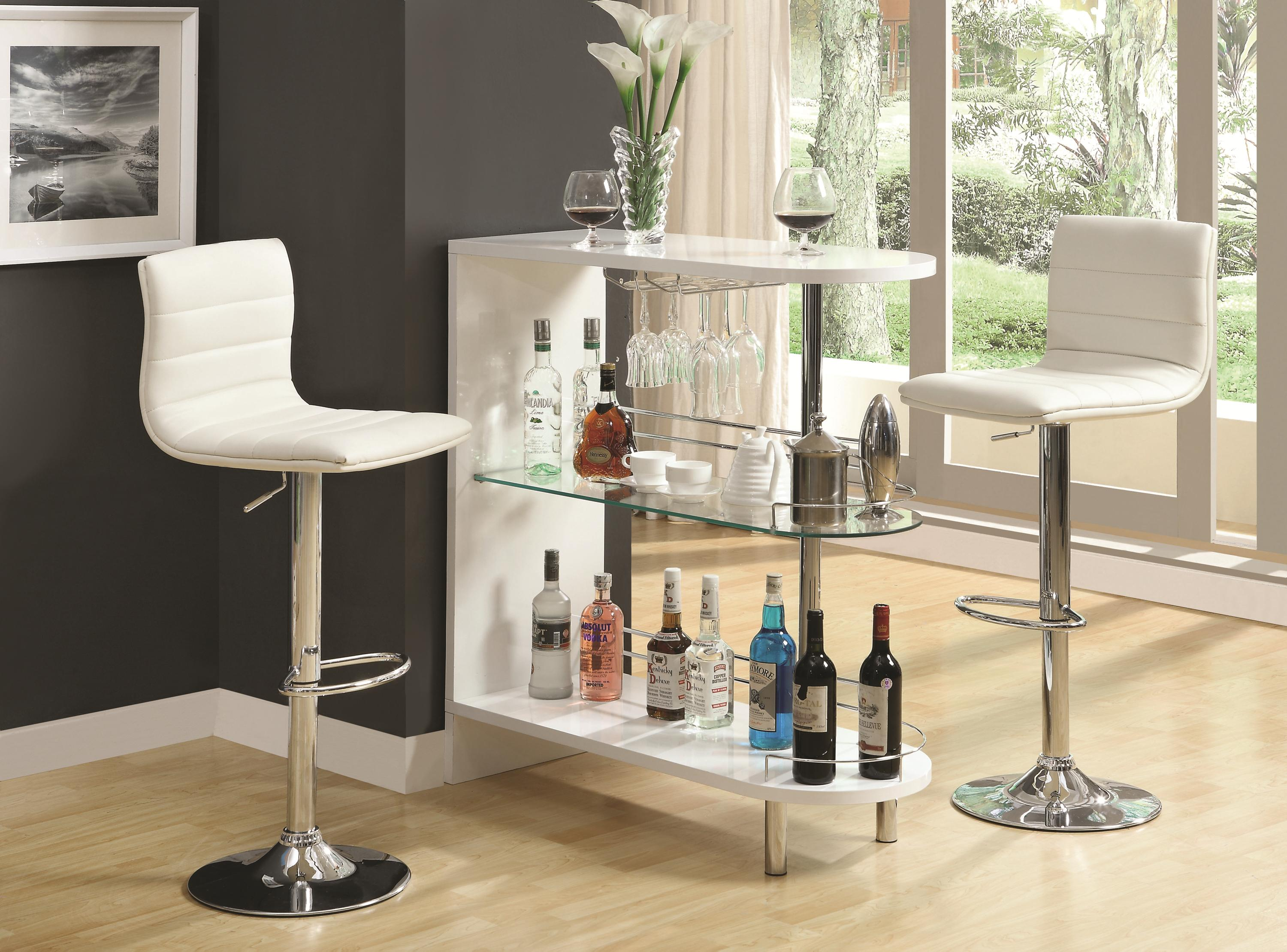 Bar Units And Bar Tables Contemporary White Bar Table Quality