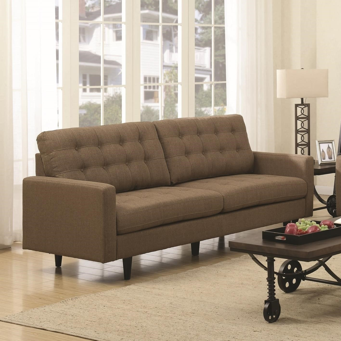 kesson mid century modern sofa quality furniture at affordable