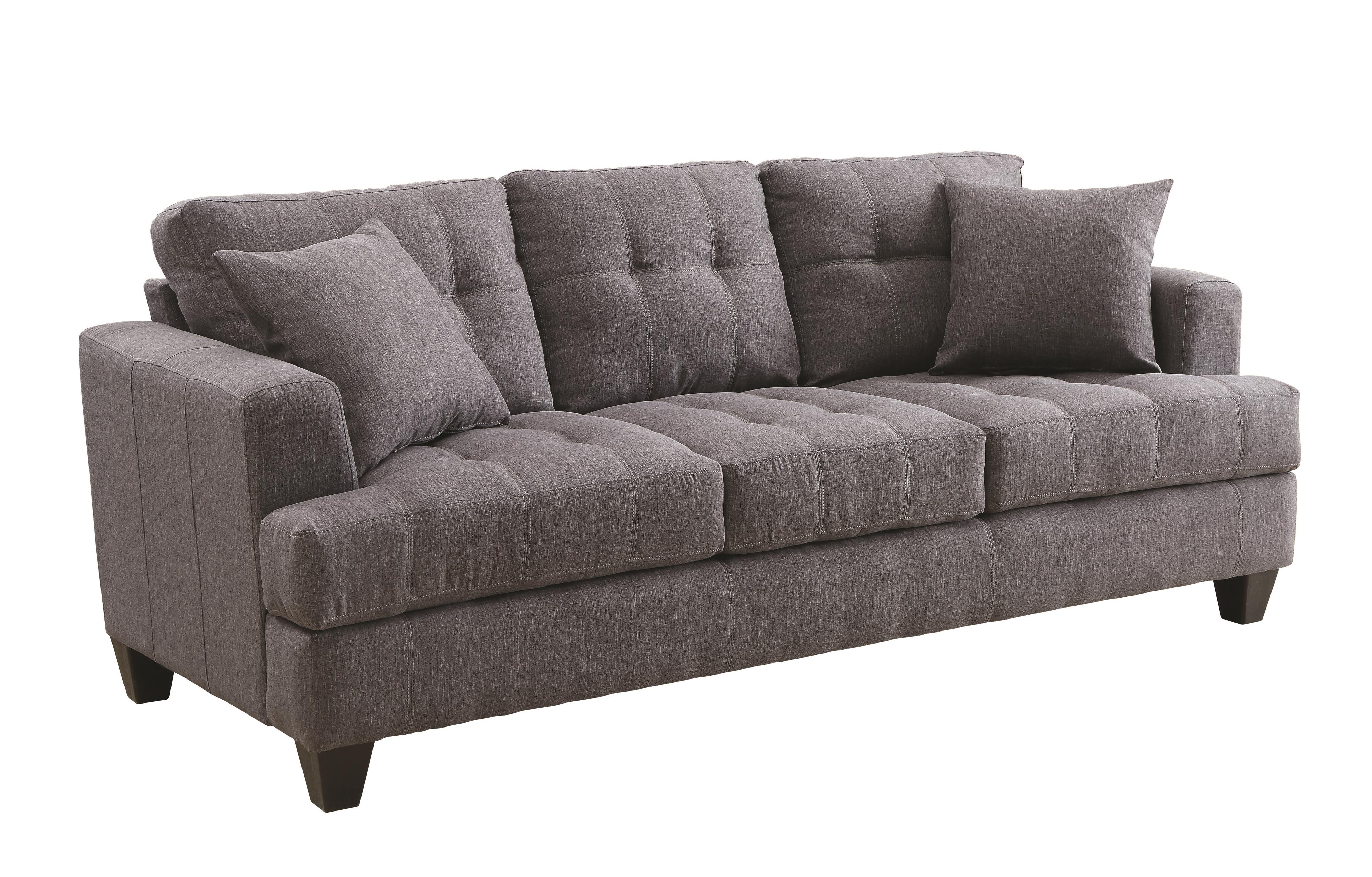 Samuel sofa sofa with tufted cushions quality furniture for Affordable quality furniture