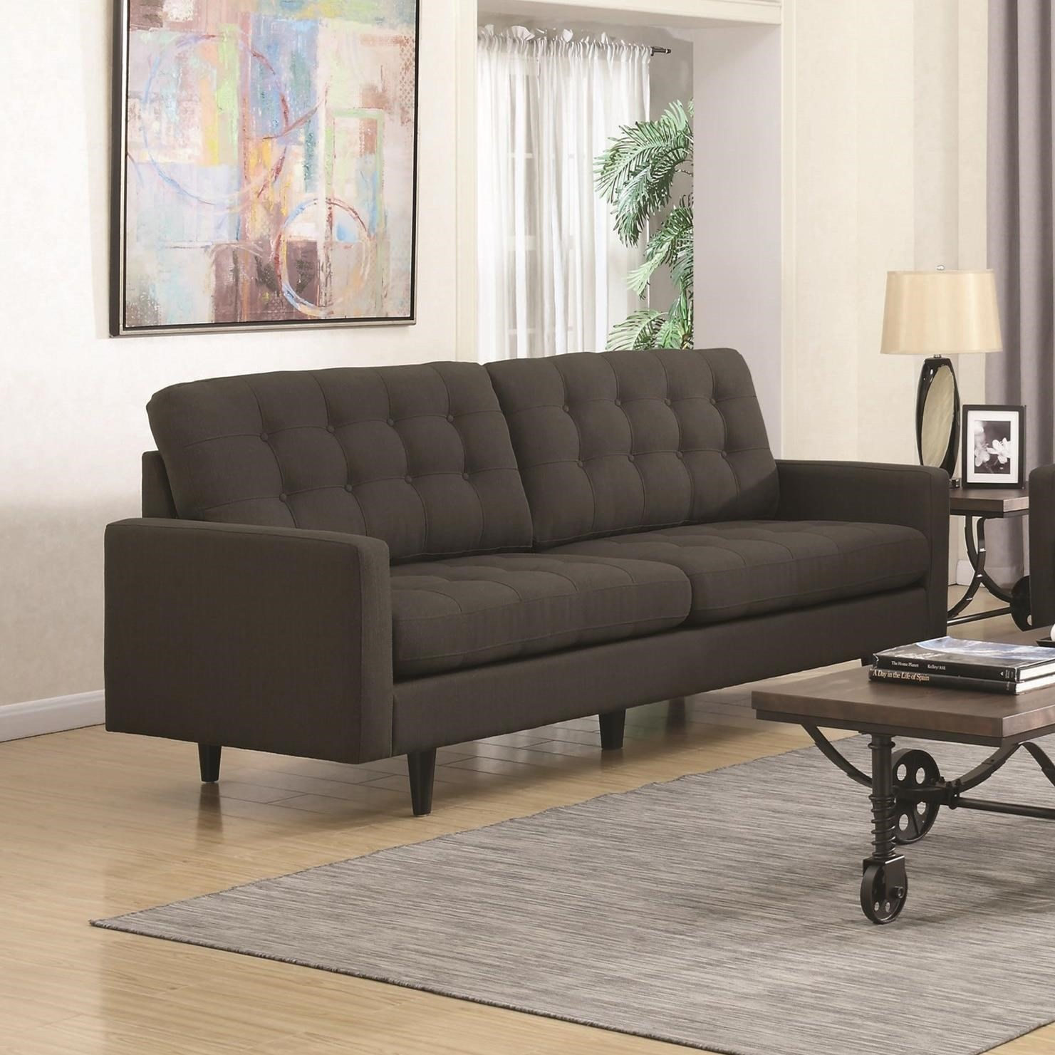 Kesson Mid Century Modern Sofa Quality Furniture At