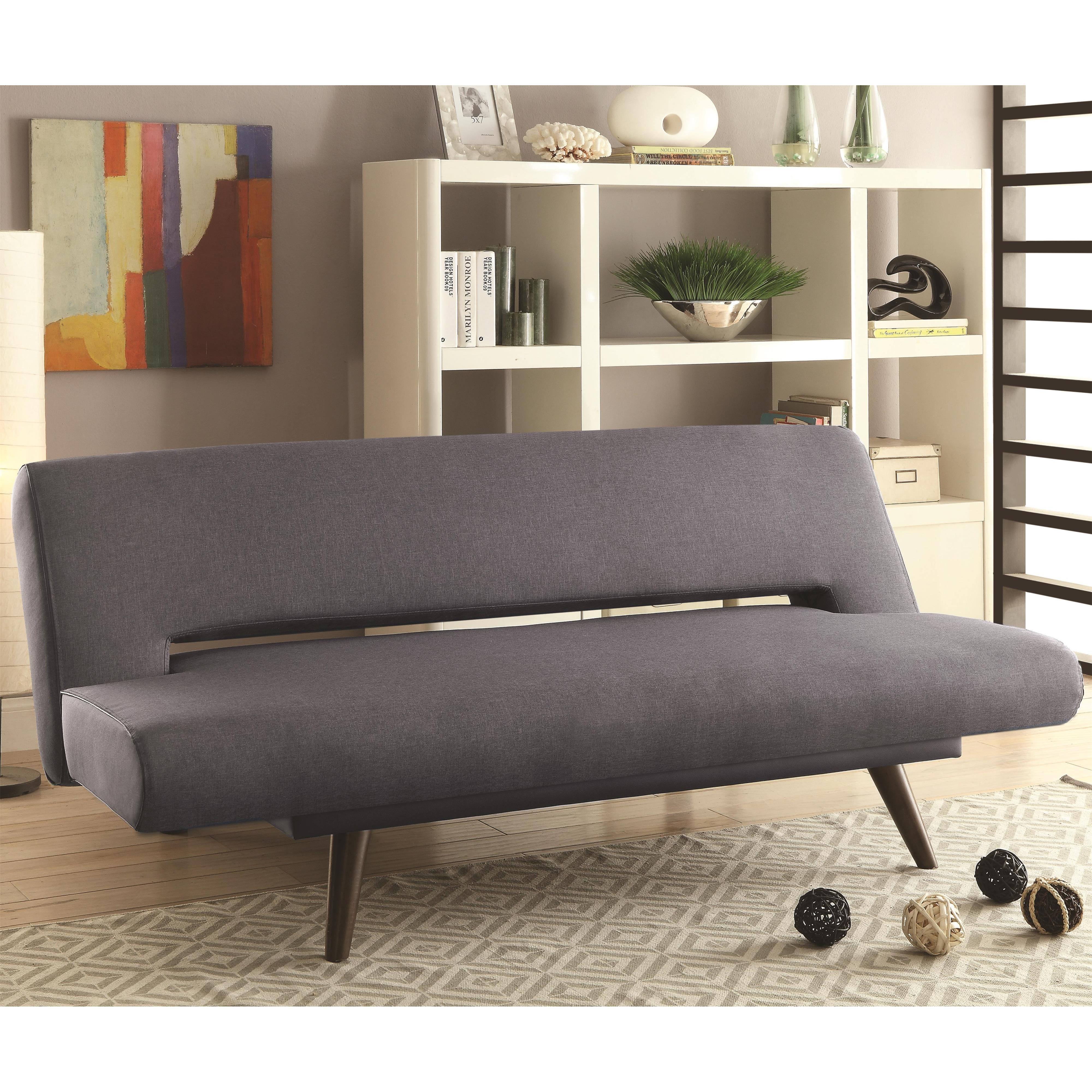 Sofa Beds and Futons   Mid Century Modern Adjustable Sofa ...