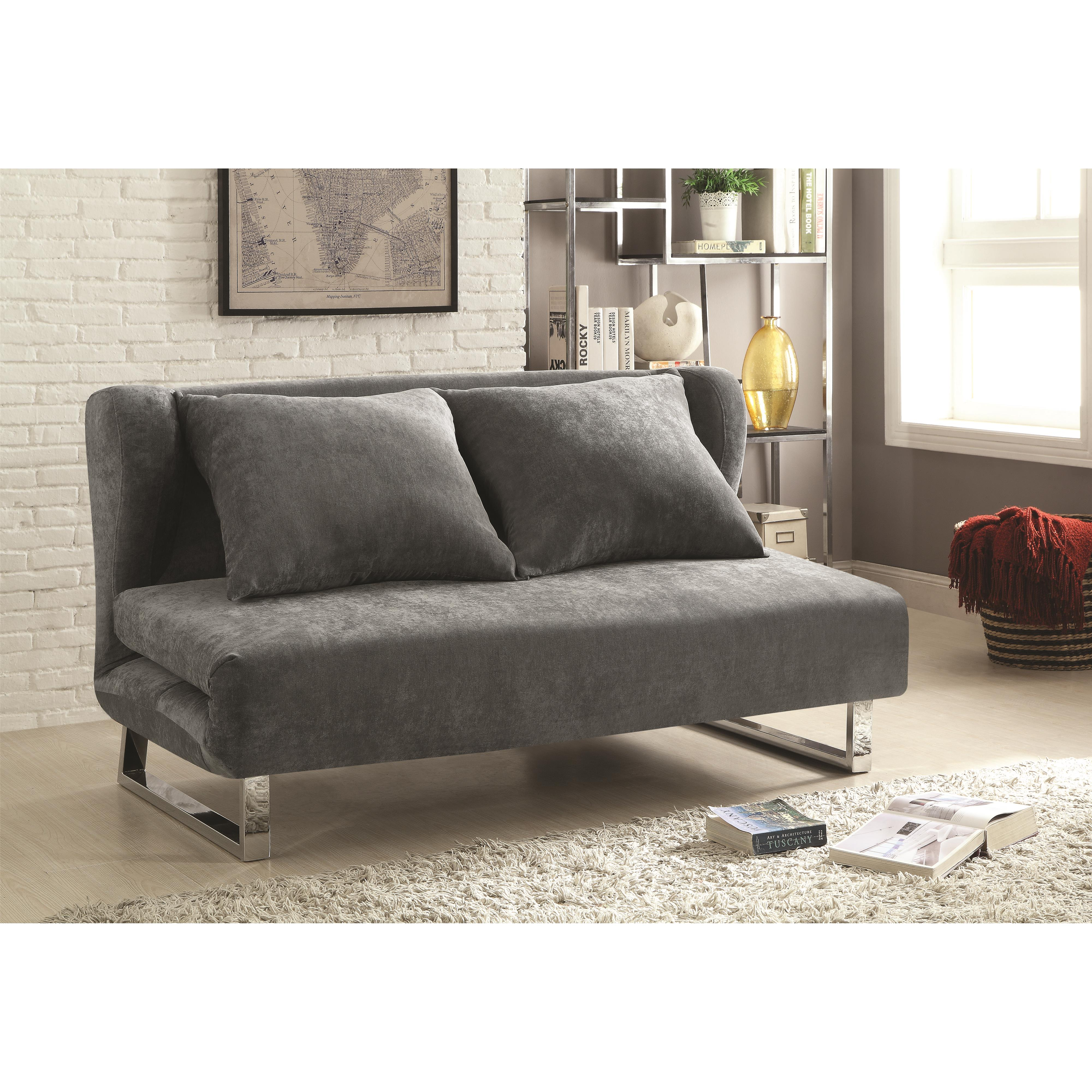 Sofa beds and futons transitional velvet sofa bed for Sofa bed philadelphia