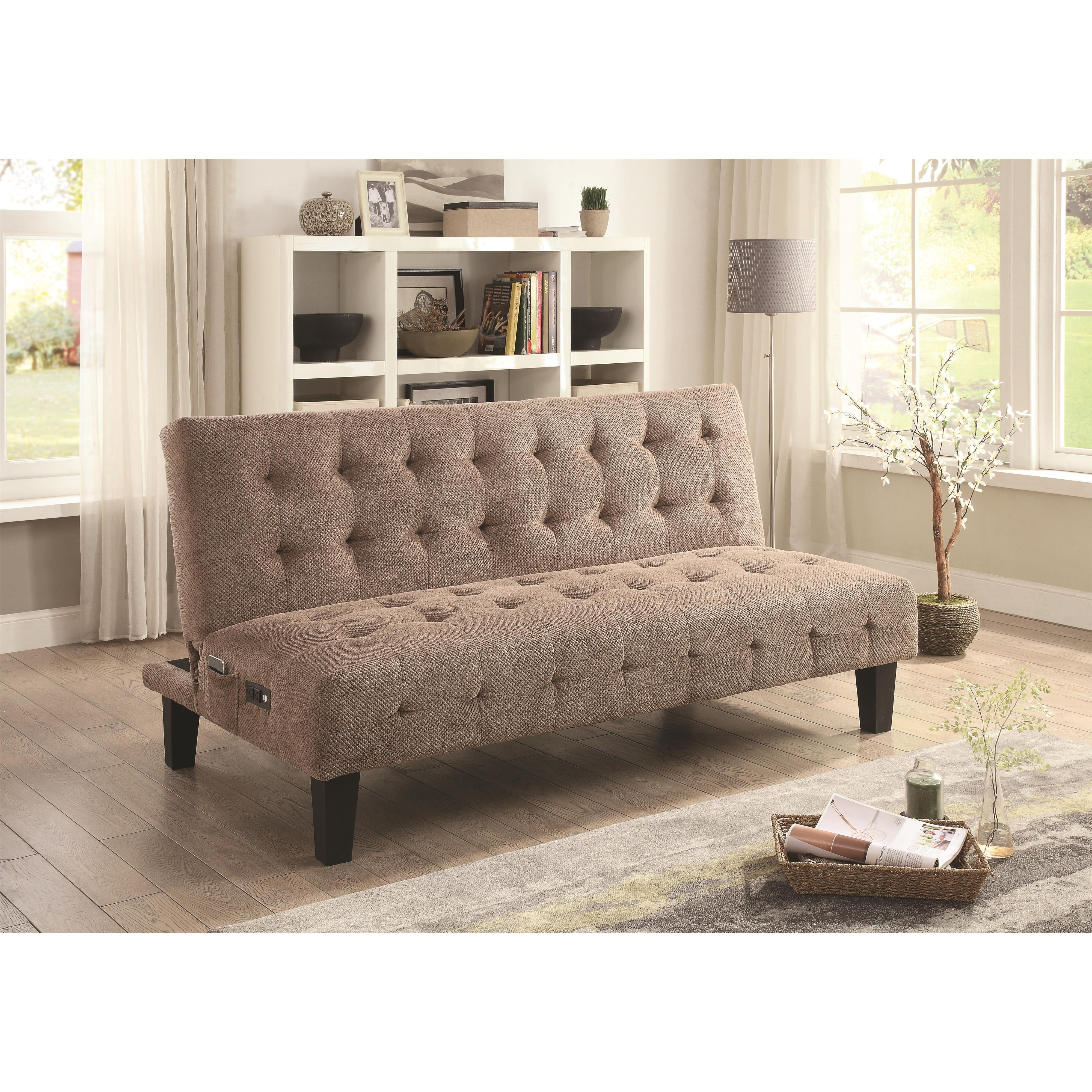 Sofa Beds And Futons Adjustable Sofa Bed With Usb And