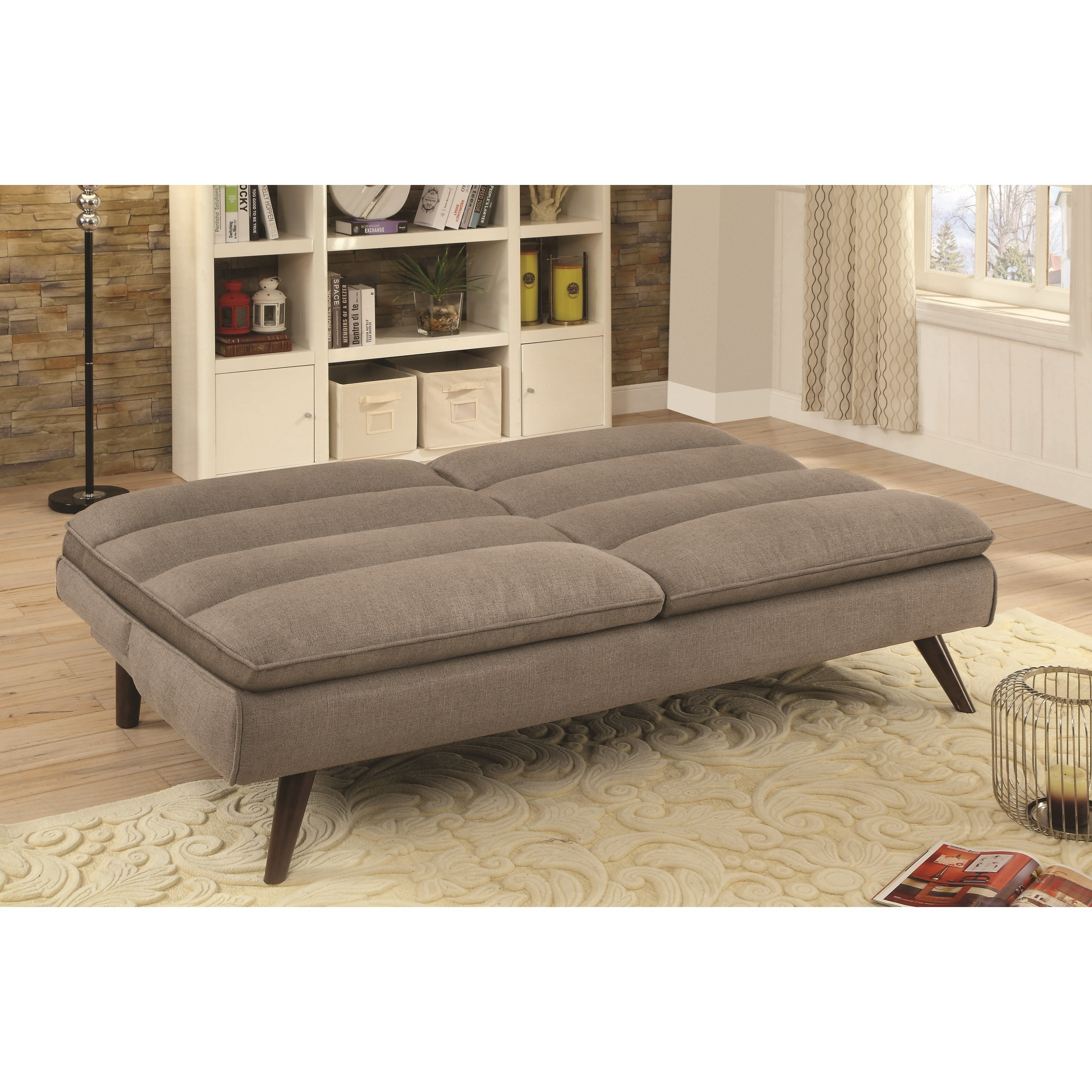 Futons sofa bed with twill fabric quality furniture at for Sofa bed philadelphia